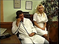 nurse and doctor fuck in office