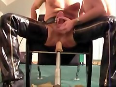 prostate machine while fucking 2 - both cum again!
