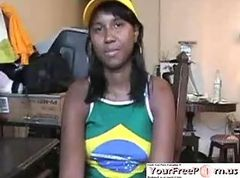 She Does Anything For Team Brazil