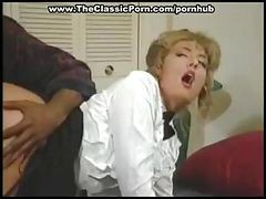 Blonde Maid Is Getting Her Ass Banged By A Big Black Cock