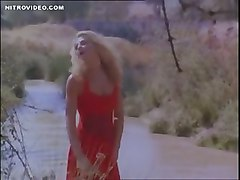 Nude Celeb Ellen Barkin In Siesta Stripping By The River